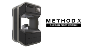 MakerBot Method X 3D Printer Carbon Fiber Edition