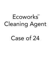 Ecoworks Tablet Cleaning Agent